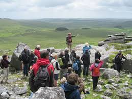 Rough Tor archaeology guided walk